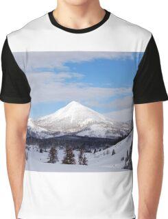 Rocky Mountains USA Graphic T-Shirt