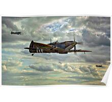 Spitfire Squadron Poster