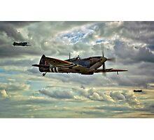 Spitfire Squadron Photographic Print