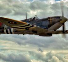 Spitfire Squadron Sticker