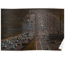 Highway 401 West of Don Mills (#303) Poster