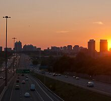 Highway 401 West of Don Mills (#364) by Gary Chapple