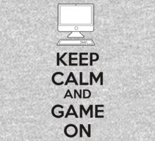 Keep calm and game on Baby Tee