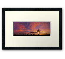 ©HCS Orange Glow II Framed Print