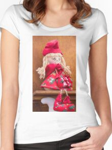 handmade doll Women's Fitted Scoop T-Shirt
