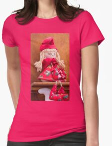 handmade doll Womens Fitted T-Shirt
