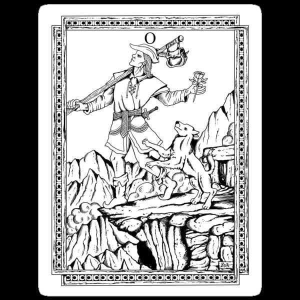 TAROT: The Fool by ZugArt