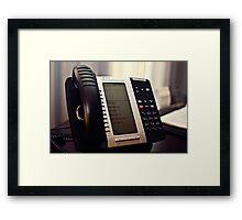 Guest Services Framed Print