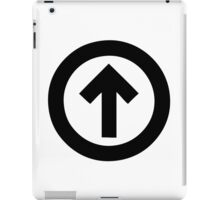 Above The Influence iPad Case/Skin