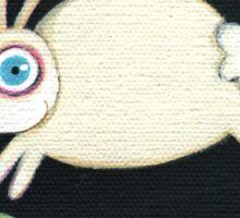 White Rabbit in the Garden Sticker