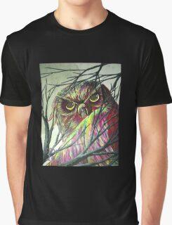owl eyes Graphic T-Shirt