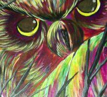 owl eyes Sticker