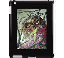 owl eyes iPad Case/Skin