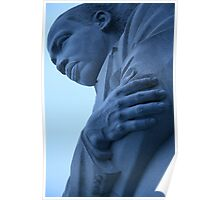 A Blue Martin Luther King, Jr. - 2 Poster