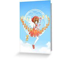 Card Captor Sakura Greeting Card