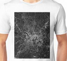Pittsburgh map Pennsylvania Unisex T-Shirt