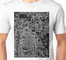 Plano map Texas Unisex T-Shirt