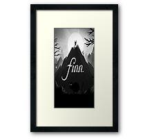 Adventure Time finn jake  Framed Print