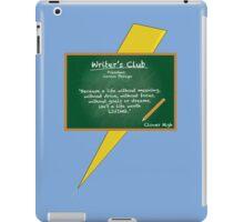 Writer's Club iPad Case/Skin