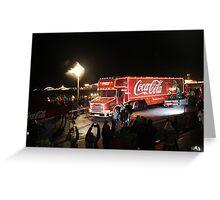 COCA-COLA CHRISTMAS Greeting Card