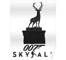 Skyfall-Black Poster