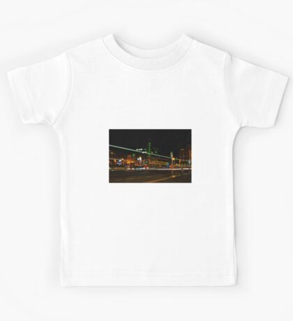 Night Time Neon Lights Kids Tee