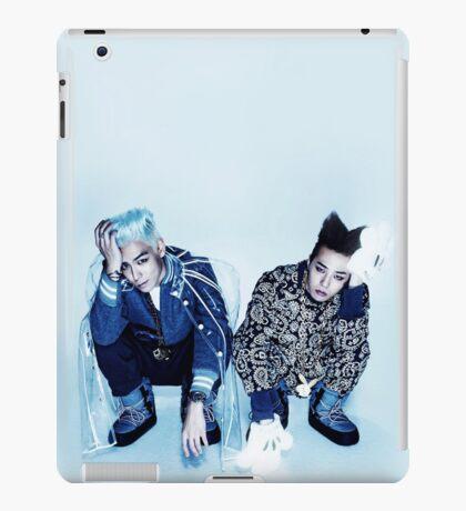 BIGBANG TOP & GD _Ice Blue iPad Case/Skin