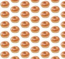Glazed Doughnut by thesaratonin