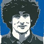 Marouane Fellaini Comic Book Style Painting by chrisjh2210