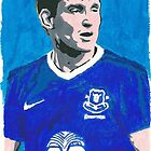 Nikica Jelavic Comic Book Style Painting by chrisjh2210