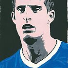 Kevin Mirallas Comic Book Style Painting by chrisjh2210