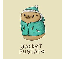 Jacket Pugtato Photographic Print