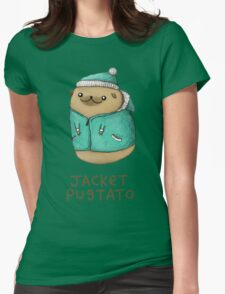 Jacket Pugtato Womens Fitted T-Shirt