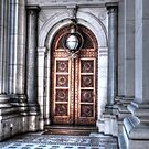 Victorian Doorway by DavidsArt