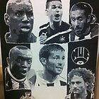 Newcastle United Canvas Painting by chrisjh2210