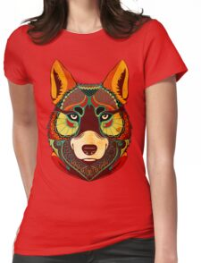 The Wolf Womens Fitted T-Shirt
