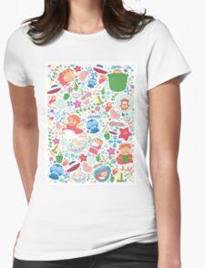 Ponyo  Womens Fitted T-Shirt