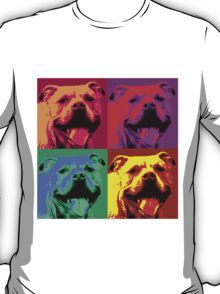Pit Bull Pop Art T-Shirt