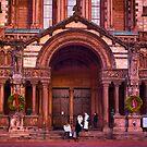 Christmas at Trinity Church  of Boston  by LudaNayvelt