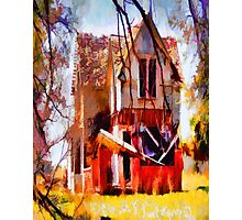 Homeless Old House Photographic Print