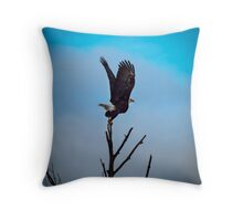 Majestic Launch Throw Pillow