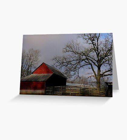 Berrvine Barn Greeting Card