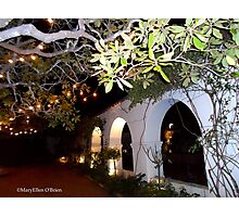 Archways of Old Monterey/Christmas in the Adobes II Photographic Print