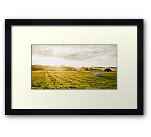 Morning rise Framed Print