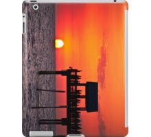 Sunset at Pier 60, Clearwater, FL iPad Case/Skin