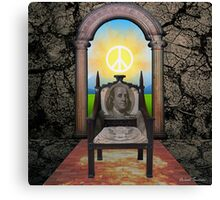 The Chair In The Doorway Canvas Print