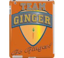 Team Ginger! iPad Case/Skin