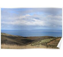 CountrySide Ocean View Poster