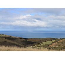CountrySide Ocean View Photographic Print