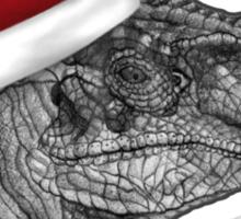 Clever girl funny Velociraptor Christmas tee    Sticker